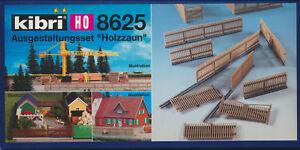 kibri-8625-Ausgestaltung-034-Holzzaun-034-Spur-H0-Neu-amp-OVP