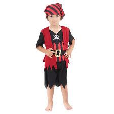 BAMBINO Carino Bambino Pirata Ragazzo coincidente Costume Età 18 mesi -3 anni NUOVO