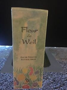Fleur-De-Weil-100-ML-EDT-Natural-Spray-Brand-new-amp-vintage