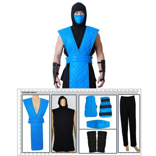 Mortal Kombat Sub Zero Cosplay Costume For Sale Online Ebay