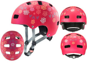 uvex kinder bmx skate fahrradhelm kid 3 cc dark red 51 55 cm ebay. Black Bedroom Furniture Sets. Home Design Ideas