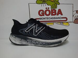 NEW BALANCE 1080 V11 FRESH FOAM UOMO - M 1080 V11 B11 - Black with Thunder