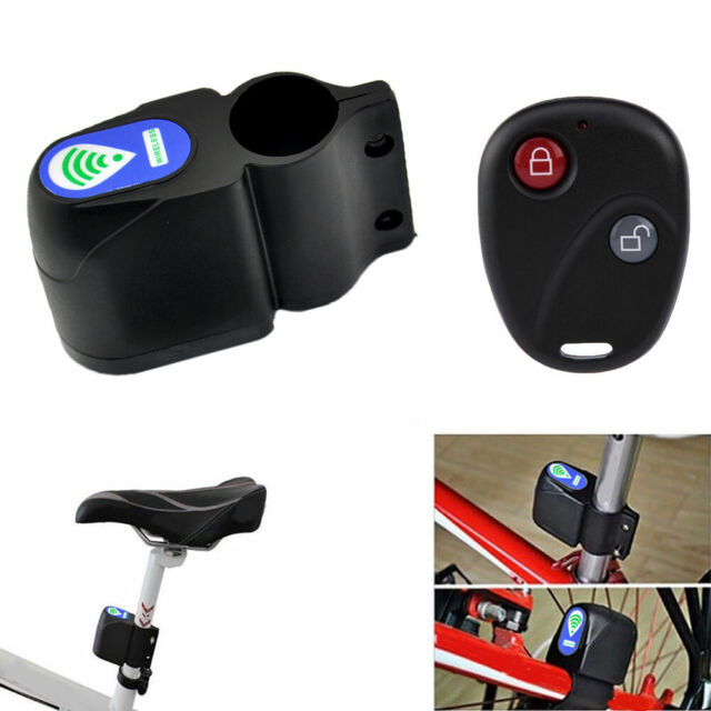 New Bicycle Motorbike Moped Cycling Security Alarm Bike Alarm Lock Sound Loud