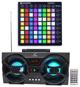 Novation-LAUNCHPAD-S-MK2-MKII-MIDI-USB-RGB-Controller-Pad-Free-Speaker