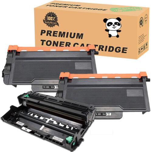 TN820 TN850 Toner Cartridge or DR820 Drum Unit Set for Brother MFC-L5900DW Lot
