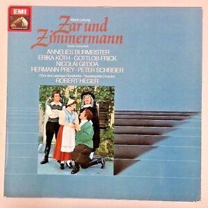 Robert Heger 1966 Import Vinyl LP Cleaned 061-28171 Lortzing Zar und Zimmermann