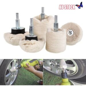 4 set Polishing Buffing Pad Mop Wheel for Car Manifold Aluminum Stainless Chrome Automotive Tools & Supplies Automotive