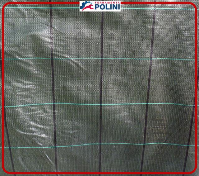 TESSUTO PER PACCIAMATURA  ROTOLO 1.05x100MT verde scuro 525//10