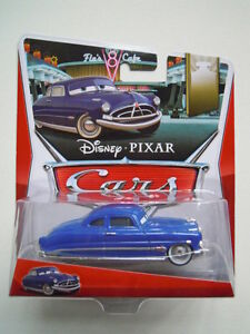 Disney-pixar-cars-nuovo-DOC-HUDSON-2013-new-fabulous-raro-1-55-mattel-maclama