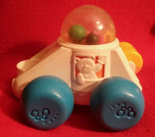 1987 Vintage FISHER PRICE Popper Car RETRO TODDLER TOY