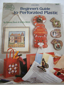 Beginner S Guide To Perforated Plastic Canvas Pattern Book