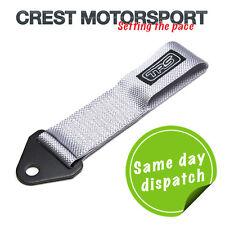 TRS Fijo Remolque Ojo strap/loop silver/grey (MSA cumple) race/rally/competition