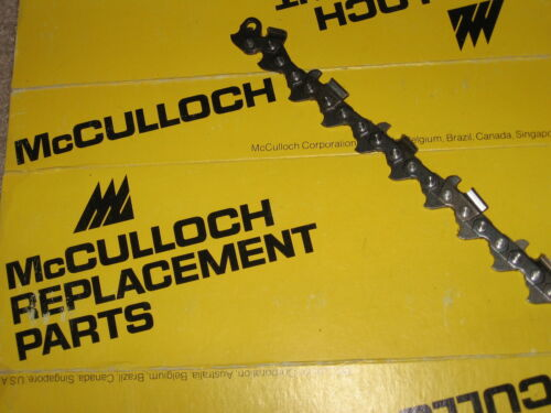 """McCulloch 10-10 610 700 SP 70 80 81 55 60 850 Chainsaw Chain 3//8 pitch 20/"""" OEM"""