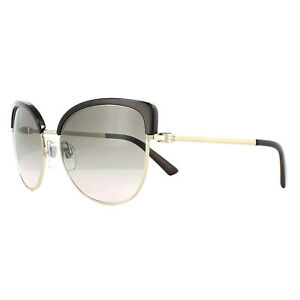 4c3dff30eea Bvlgari Sunglasses 6082 278 3B Pale Gold Cocoa Pink Gradient Grey ...