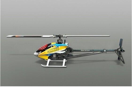 Tared 450 pro V2 Fbl Flybarless Rc Heli Set