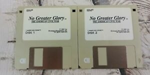 SSI-No-Greater-Glory-The-American-Civil-War-PC-Game-3-5-034-Floppy-Disks