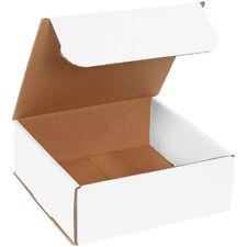 8 X 8 X 3 White Corrugated Mailingshipping Boxes Ect 32b 50case