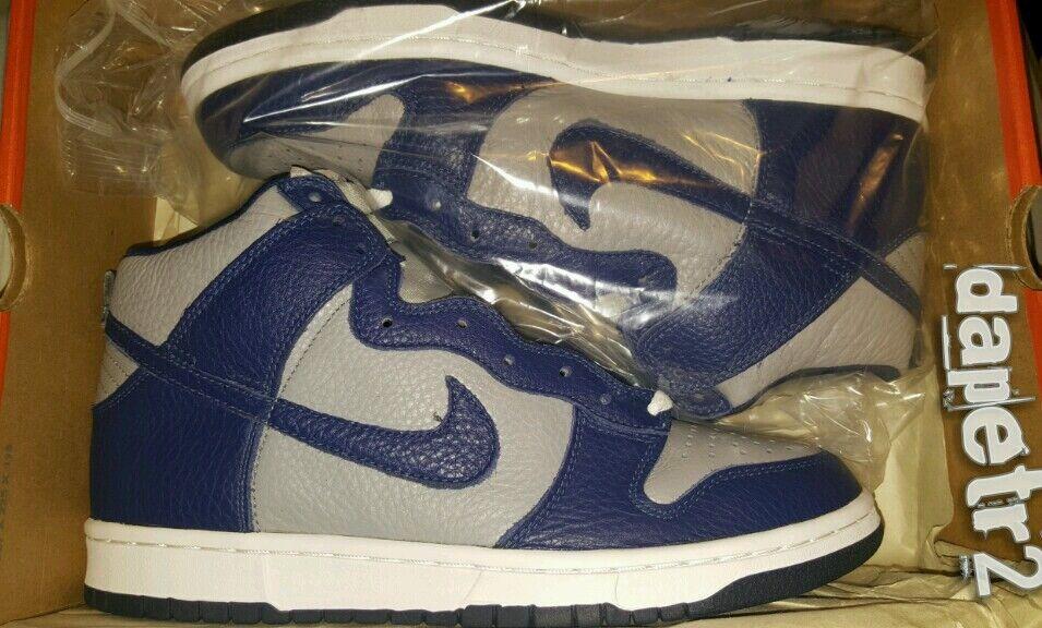 Nike ***Vintage*** Dunk High 2000 Navy Grey 630383-042