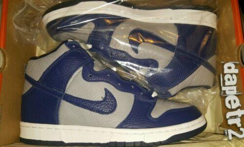 Grey High Dunk Navy 630383 vintage Nike 2000 042 E6XwnF5Iqx