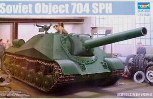 Trumpeter 1:35 objet 704 SPH prototype soviétique Self-Propelled Howitzer Model Kit