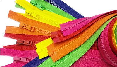 ZipperStop YKK® #5 Molded Plastic Separating ~ Hot Pink 516 ~ Jacket Zipper