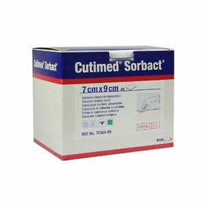 Cutimed Sorbact Dressing Pads Choose size AntibacterialAntifungal - Huddersfield, United Kingdom - EasyMeds Healthcare Ltd priority is customer satisfaction. If for any reason you are not completely satisfied then please contact us within 14 days of receipt of your order and our customer service team will be more than hap - Huddersfield, United Kingdom