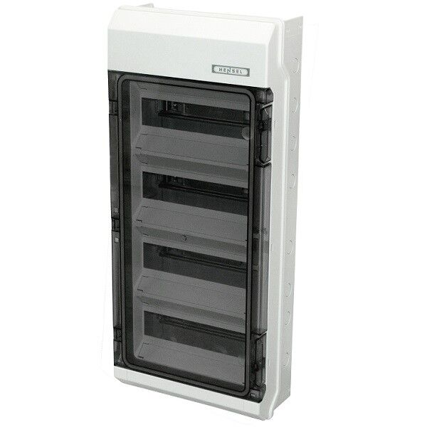 circuit breaker housing aufputzverteiler fuse box small distributor kv hensel Home Breaker Box