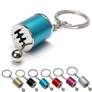 Keychain-Ring-Fob-Creative-Car-6Speed-Gearbox-Gear-Shift-Racing-Tuning-Keychain