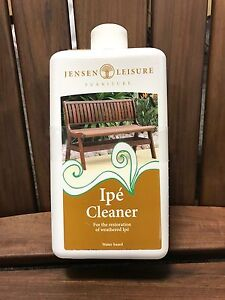 Image Is Loading Jensen Leisure Furniture Ipe Cleaner Water Based