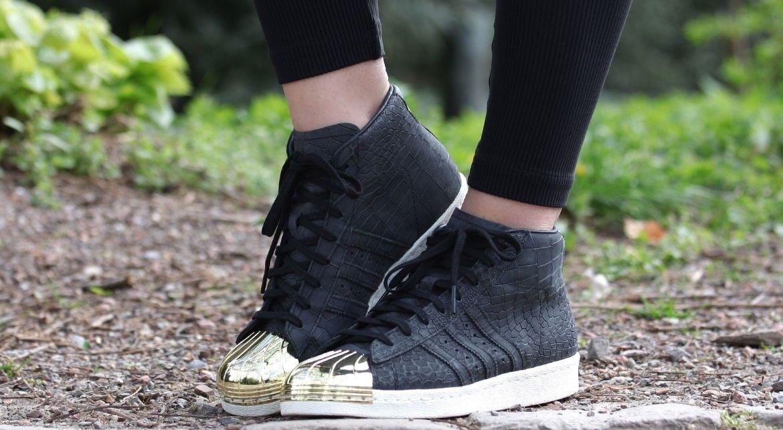 Adidas Originals Superstar Promodel Metal Toe shoes Suede S81466