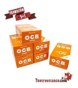 18000 carta Arancione orange OCB 70 mm - 300 Opuscoli di 60 carta