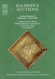 Baldwin S 51 Commemorative Military Medals Decorations Coin Books Auction 2007 Ebay