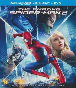 El-Asombroso-Hombre-Arana-2-Blu-ray-3D-BLU-RAY-DVD-NUEVO-PRECINTADO-Envio-Gratis