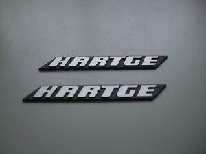 BMW-Hartge-Typenschild-Seitenleisten-H3-H5-H6-H7-E34-e36-e38-e30-usw