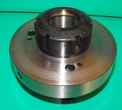 100mm ER40 Lathe Chuck D1-3 camlock mount 30mm capacity,  30mm through bore