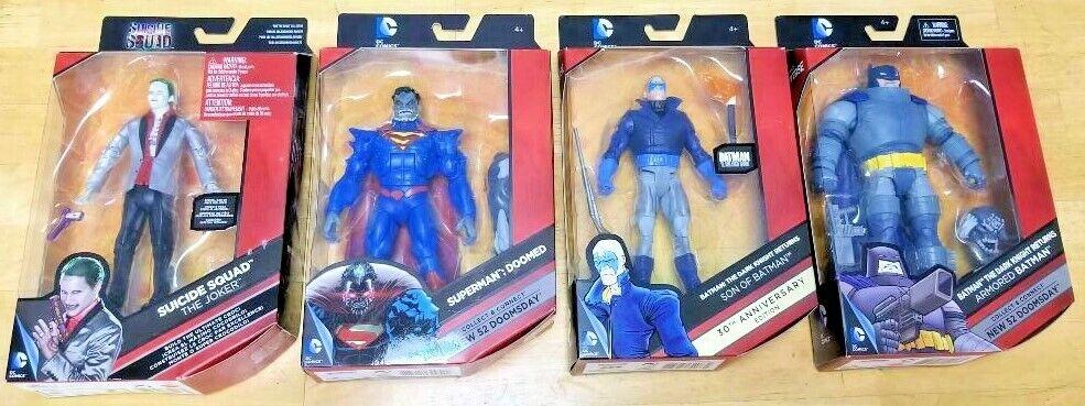 D.C COMICS MULTIVERSE  ArmGoldt Batman  Son of Batman  Joker  Lot of 4  NEW