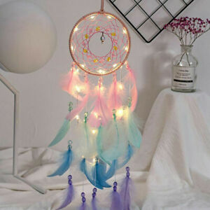 Home-Decoration-Wall-Hanging-Dream-Catcher-Wind-Chimes-With-Night-Light