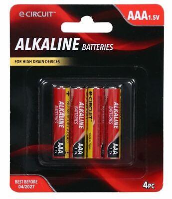 Bulk 8 Pack E Circuit Alkaline Aaa Batteries 4 Ct Packs Ebay