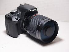 500mm lens =750mm on CANON DIGITAL 760D 80D for Wildlife Photography 50D 70D EOS