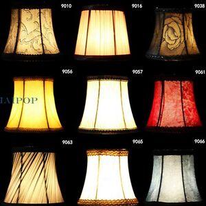 2x stoff blumen lampenschirm f r anh nger wandleuchte licht wandbehang wohndeko ebay. Black Bedroom Furniture Sets. Home Design Ideas
