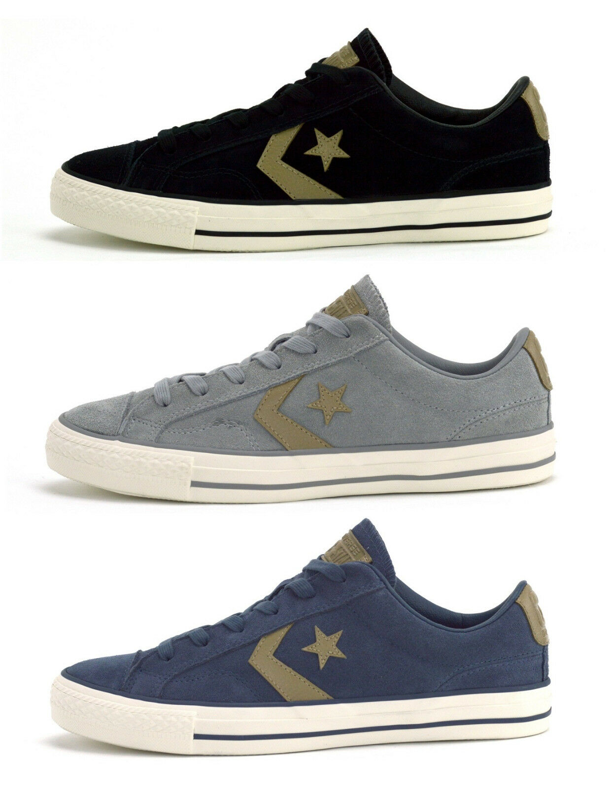 CONVERSE STAR PLAYER SUEDE OX - Hombre SNEAKERS -  BRAND CHOICE OF COLOURS - BRAND  NEW 175b15