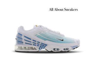 Nike-AIR-MAX-sintonizzato-Air-3-034-bianco-nero-Las-034-Uomo-Scarpe-da-ginnastica-LIMITED-STOCK