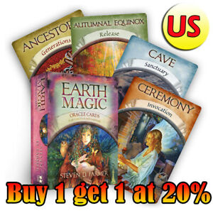 Magic-Oracle-Cards-Earth-Magic-Read-Fate-Tarot-48-card-Deck-Set-BEST-SALE-NEWEST