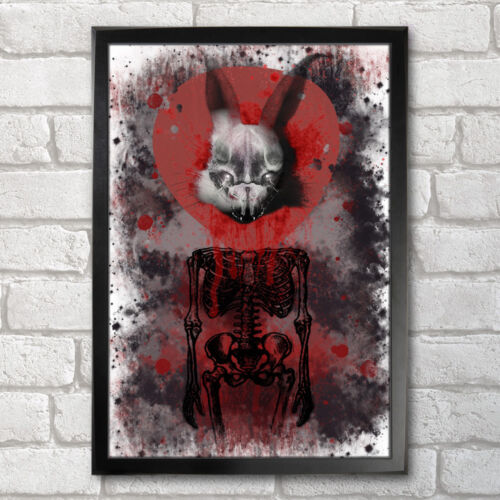 13x19 in Rabbit in Your Headlights Poster Print A3 33x48 cm UNKLE Inspired