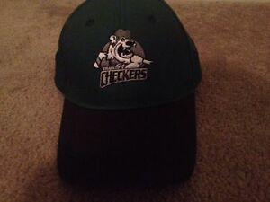 cffcaaf7 Image is loading Charlotte-Checkers-Adult-Cap-Adjustable-Hat-Green-Black-