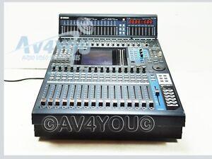 yamaha dm1000 digital production mixing console mb1000 peak meter bridge mixer ebay. Black Bedroom Furniture Sets. Home Design Ideas