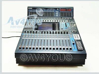 yamaha dm1000 digital production mixing console mb1000 peak meter bridge mixer ebay. Black Bedroom Furniture Sets. Home Design Ideas