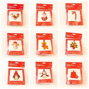 Christmas-Decoration-Sewing-Kit-15-Designs-Festive-Xmas-Crafts-FREE-UK-P-amp-P