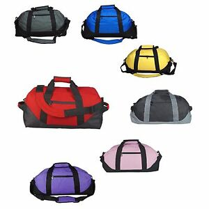 Image is loading DALIX-18-034-Two-Toned-Gym-Duffle-Bag- 0daf7314cb60a