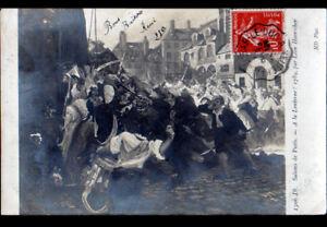 Art Peinture Revolution 1789 A La Lanterne Par Leon Haarscher Ebay